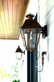 outdoor gas lamp post outdoor gas lanterns electric light post lamp lights lighting how to light