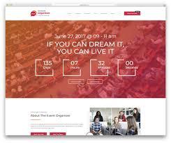 Best Hotel Website Design 2018 24 Best Responsive Event Website Templates 2019 Colorlib