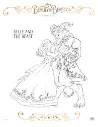 Small Picture Beauty And The Beast 2017 Coloring Pages GetColoringPagescom