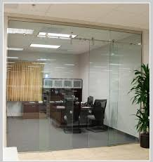 5 internal glass sliding doors in glass design