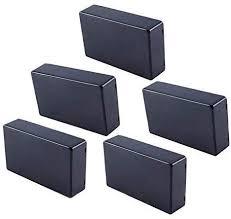 Yosoo 5 Pcs 100x60x25mm Plastic Cover <b>Project Electronic</b> ...