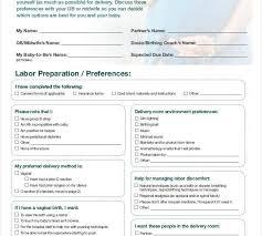 How To Plan Baby Birth Date Baby Birth Plan Template Urldata Info