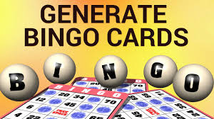 Bingo Ball Generator How To Generate Bingo Cards