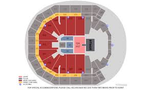 Pinnacle Bank Arena Lincoln Ne Seating Chart Citizens Bank Arena Online Charts Collection