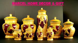 Yellow Canister Sets Kitchen Kitchen Set Decor Kitchen And Decor