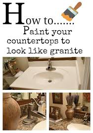 painting countertops to look like granite awesome diy painted countertops using giani granite paint kit