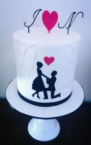 Simple Engagement Cake Designs Google Search Cake Design Cake