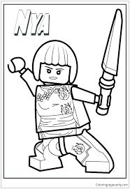 Free Printable Lego Ninjago Coloring Pages Coloring Page Free