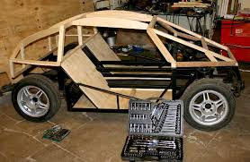 now the backs of the seats with the floor and side frames ed and primed it is time to reinforce the roof to take the hinges for the gull wing doors