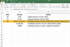 How To Use The And Or And If Functions In Excel