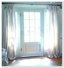 sidelight panels curtain panel curtains front door side window with regard grommet faux stained glass