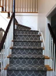 patterned stair carpet. Decorations Decorative Carpet Stair Runner Ideas Design Patterned Green . Y