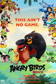 The Angry Birds Movie - Poster (FM) | Angry birds movie, Angry birds, Anime  movies