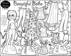 Small Picture Jazz Age Baby Twenties Fashion Paper Doll Coloring Page Black