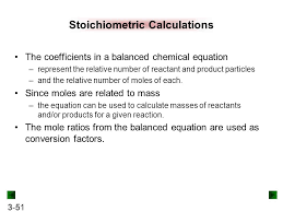 what do the coefficients in a balanced chemical equation always