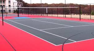 multi use game court at stony brook university