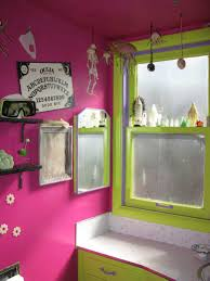 Pink And Green Home Decor Bathroom Pink Bathroom Paint Ideas Decorated With Pink Wall And