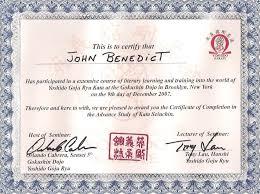 martial arts certificate template certificates seitouha goju ryu karate seigi dai dojo