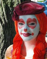 image source page how to do cute clown makeupcircus