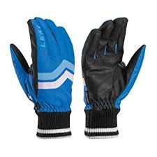 Leki Gloves Size Chart Leki Ski Gloves Blue Elements Osmium Blue Blue Size 8