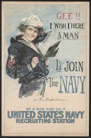 Womens History Month The Navy Yeoman In World War 1