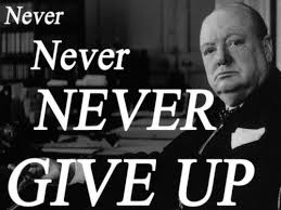 Winston Churchill Famous Quotes Adorable Never Give Up LepeMislisi