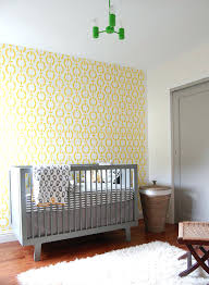 baby nursery wallpaper ideas gray and yellow nursery designs with  refreshing elegance beautiful wallpaper brings yellow