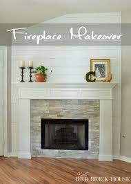 farmhouse fireplace makeover reveal
