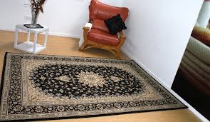 extra large soft thick heavy duty kohinoor traditional design rug black 2 4x3 4cm rugs more