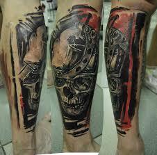 волки черепа шипы и розы в арт татуировке 40 фото онлайн