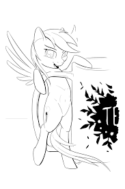 7 Mare Lineart Cute For Free Download On Ayoqqorg