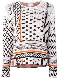 Lala Berlin Manon Sweater In White Lyst