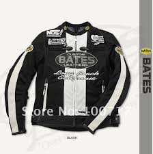 bates summer jacket racing mesh jacket racing clothes bj m1113ss new black with white color