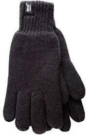 Thinsulate Mens 3m Black Thermal Lined Winter Gloves Amazon