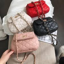 Fashion <b>Baggage Girl 2019 New</b> Sweet Embroidery Mini Square ...