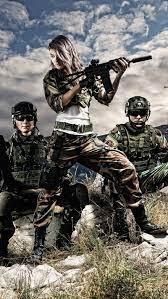 Female Soldier, attitude, army girl, HD ...