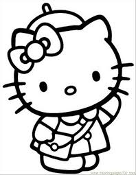 Small Picture kitty printable coloring pages