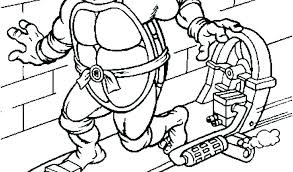 Teenage Mutant Ninja Turtles Coloring Pages Best Coloring Pages Free