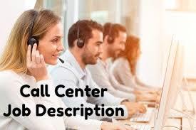 Sample Call Center Job Description