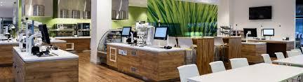green office interior. Wood Floors Green Office Interior E