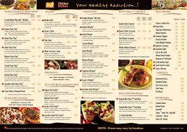 chicken kitchen williamston nc menu