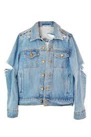 diy mega shredded denim jacket