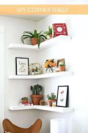 rustic white shelf how to make floating corner shelves distressed white wall shelves