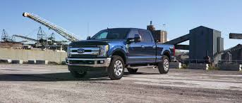2019 Ford Super Duty Lineup Exterior Color Option Gallery