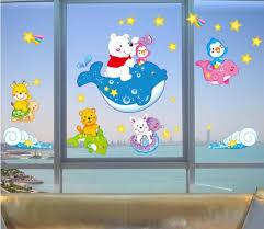 sliding glass door decals 2016 new hot fashion fish 3d