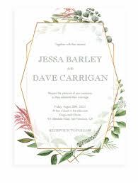 Wedding Invitation Template Geometric Wedding Invitations Template Transparent Png