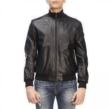 jacket men emporio armani black