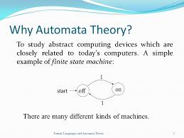 topics automata theory grammars and languages complexities ppt 2 why