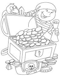 Treasure Coloring Page 2771394