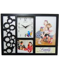 feelings plastic wall hanging black collage photo frame